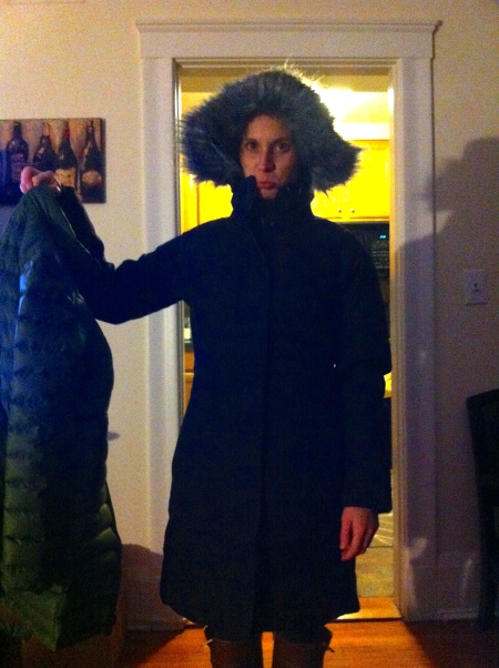 My new Boston winter coat