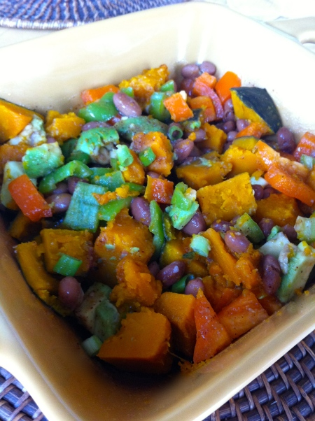 Squash, Bean and Pepper Salad