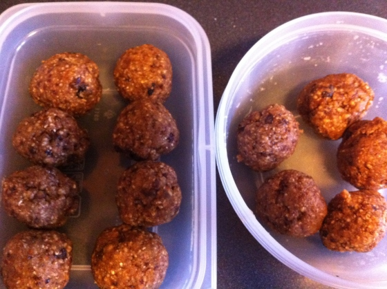 ginger cinnamon energy balls