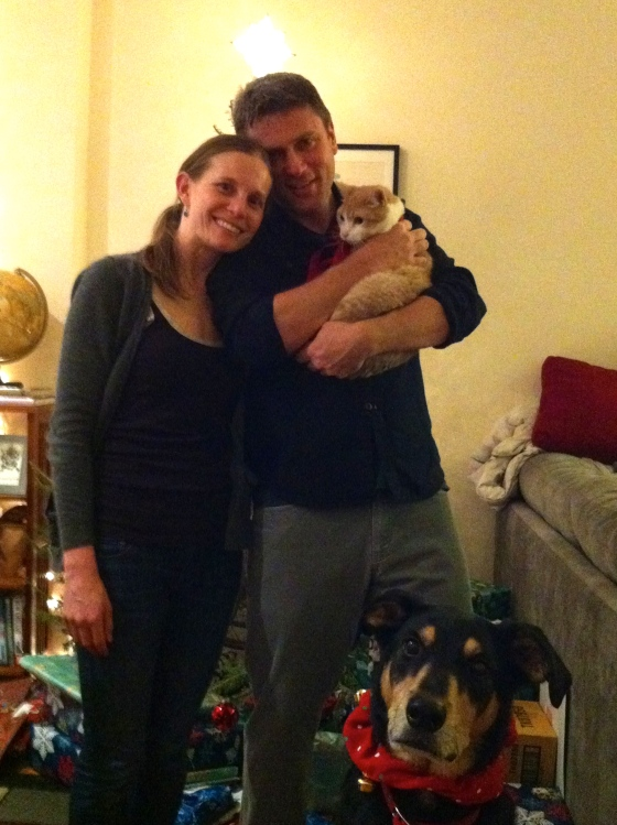 Family Christmas photo 2012