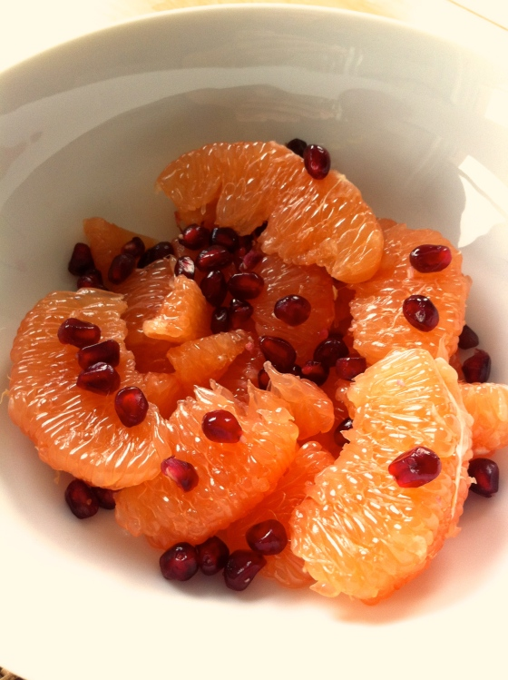 Grapefruit Pomegranate Salad