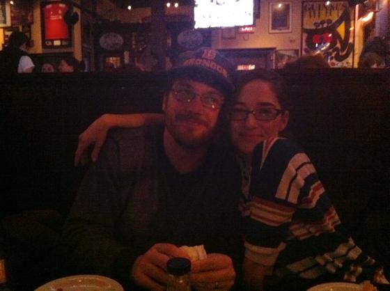 Kristy and Erik
