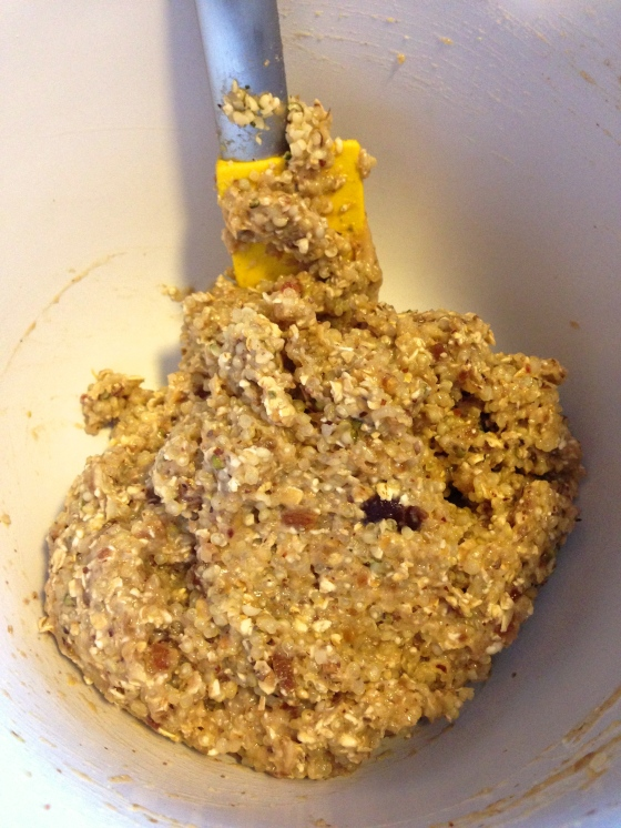 quinoa cookie dough