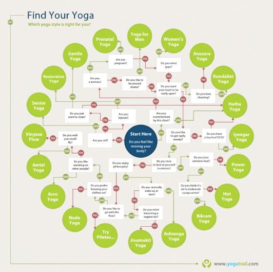 yogatrail infographic