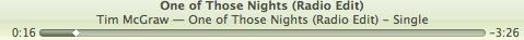 One of Those Nights-Tim McGraw