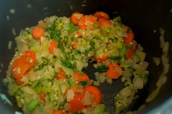 sauteed veggies