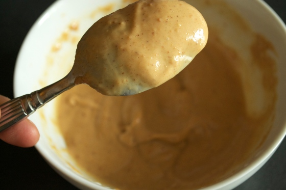 peanut butter and milk