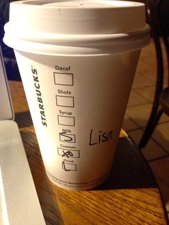 Starbucks Soy Latte
